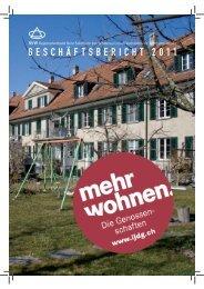 SVW Jahresbericht 2011 - Regionalverband Bern-Solothurn