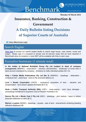 benchmark_10-03-2014_insurance_banking_construction_government