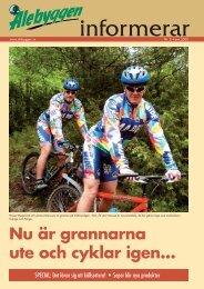 Nu är grannarna ute och cyklar igen... - Alebyggen
