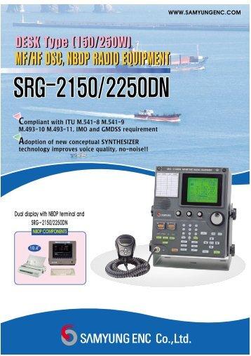 MF/HF DSC, NBDP RADIO EQUIPMENT DESK Type (150 ... - MECOM