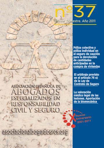 Revista nº 37, 1º trimestre año 2011 (PDF 8,60 Mb) - Asociación ...