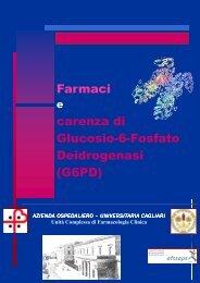 Opuscolo carenza G6PD - Servizio di informazione sul farmaco