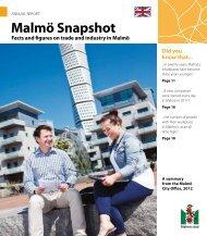 Malmö Snapshot - Malmobusiness.com