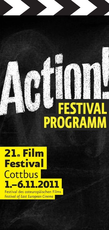 FESTIVAL PROGRAMM - Filmfestival Cottbus