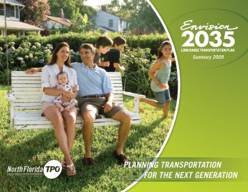 2035 LRTP Summary Brochure with Adopted ... - North Florida TPO