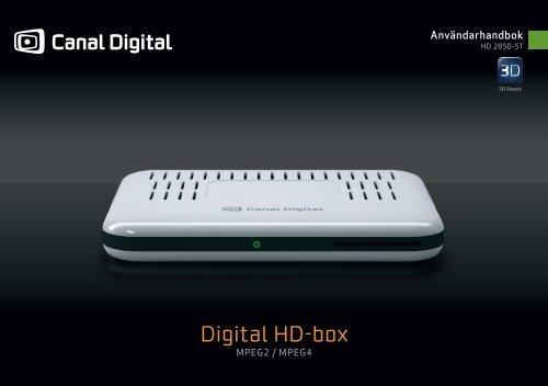 Digital HD-box - Canal Digital