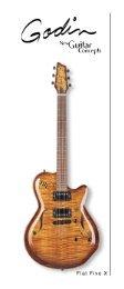 Flat Five X - Version 2 - Godin Guitars