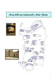 Storia delle case tradizionali a Santa Giusta - Comune di Santa Giusta