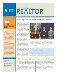 June 2009 - Pennsylvania Association of Realtors