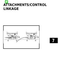 Section 7 - Attachments/Control Linkage