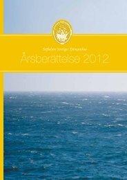 Årsberättelse 2012 - SAN - Sjöfartens Arbetsmiljönämnd