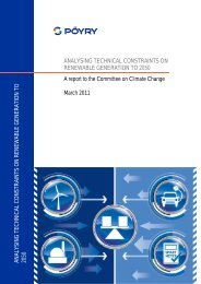 Analysing technical constraints on renewable generation to ... - Pöyry