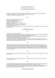 Regulamin zarządu - Action S.A.