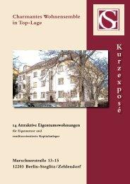 BESCHREIBUNG - Gies & Schramm Immobilienkoordination