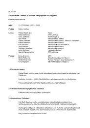 kokous 7 / 16.12.2009 - TTS