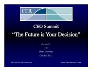 CEO summit - Front Street Commercial Real Estate Group
