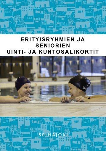 erityisryhmien ja seniorien uinti- ja kuntosalikortit - Seinäjoki