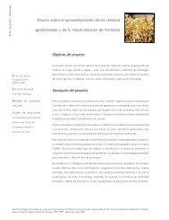 Objetivos del proyecto Descripción del proyecto Estudio sobre ... - Fia