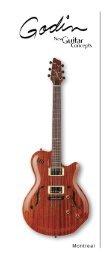 Montreal - Godin Guitars