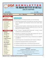 "Issue No. 50/2012 Vol. L ""Monthly"" Date: 31.01.2012 ... - IIM"
