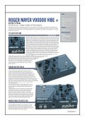 Roger Mayer Voodoo Vibe + - Guitar Toyz - Page 2