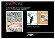 TARIFS ESPACES 2011 - anzeigenpreise.ch