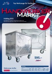 Handwerkermarkt Frühling 2013 D (pdf/3.36MB) - Debrunner Acifer