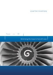 Minimising the impact of aircraft noise - Department of Infrastructure ...
