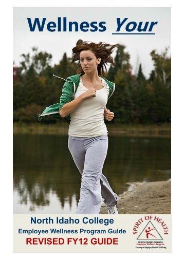 Wellness Program-Employee Handbook - North Idaho College