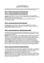 Protokoll vom 14.März 2012 - Nußloch