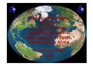 The Egyptian Space Program & its Role in the Sustainable Peaceful ...