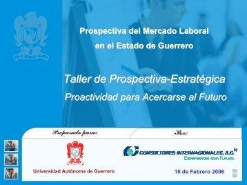 Prospectiva del Mercado Laboral en el Estado de Guerrero