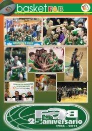 Revista basket FAB 25 Aniversario - Federación Andaluza de ...