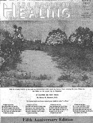 1953 April - God's Generals