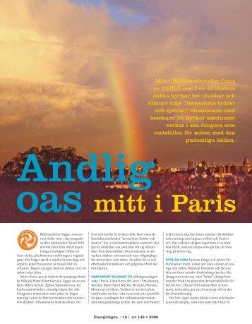 Andlig oas mitt i Paris - Free