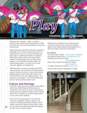 Play - Halifax Regional Municipality