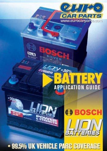 Battery Catalogue - Euro Car Parts