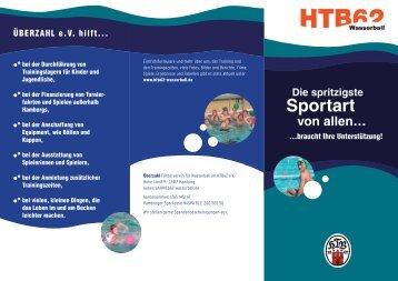 Sportart - HTB62 Wasserball
