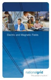 Electric and Magnetic Fields - National Grid