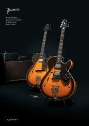 Framus Guitars Consumer Price List & Guide Book - Guitars at ...