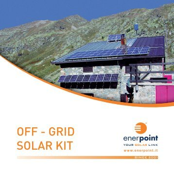 OFF - GRID SOLAR KIT - Enerpoint