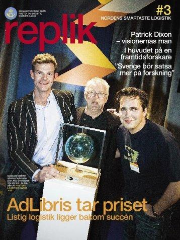 AdLibris tar priset - Posten