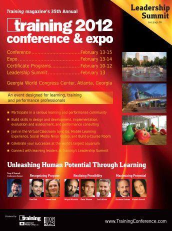 Leadership Summit - Training Press Releases