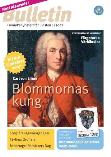 Blommornas kung - Posten