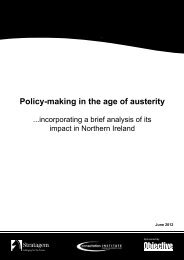 Policy-making in the age of austerity - CARDI