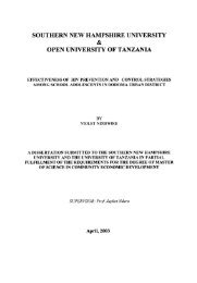 Effectiveness of HIV prevention and control strategies among ...