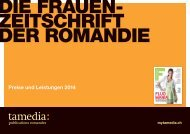 Preise und Leistungen 2013 - anzeigenpreise.ch