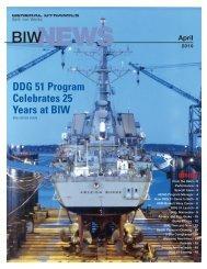 DDG 51 Program Celebrates 25 Years at BIW - Bath Iron Works
