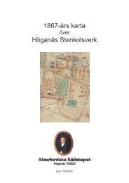 Rapport 10 - 1867 års karta över Höganäs Stenkolsverk