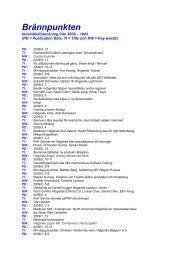Innehållsförteckning 2009 - Stawfordska Sällskapet